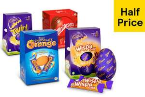 NOW LIVE! Tesco All Large Easter Eggs - £2 From 20th March to 26th March