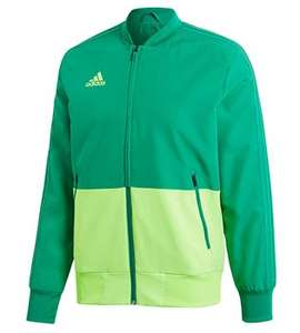 adidas Condivo 18 Presentation Jacket - Adult - Bold Green/Solar Green £15.94 delivered (possibly £14.14 w.code) at The GAA Store