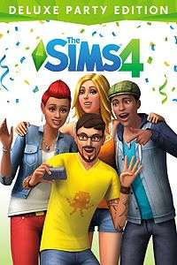 The Sims 4 (Xbox One) Deluxe Party Edition £9 @ Microsoft Store