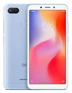 XIAOMI REDMI 6 DUAL SIM In Black £115 32GB / £157 64GB @ Clove Technology