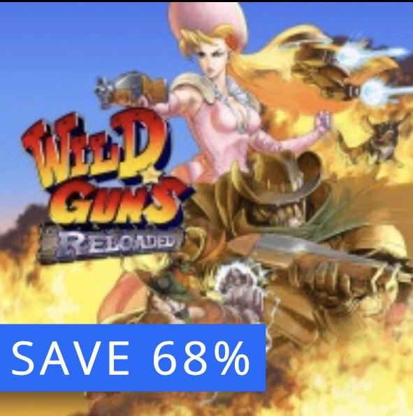 Wild Guns Reloaded for PS4. Super Nintendo remaster! Wild West Steampunk - £4.99 @ PSN