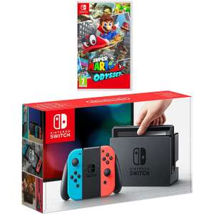 Nintendo Switch with Mario Odyssey bundle - £289 @ AO