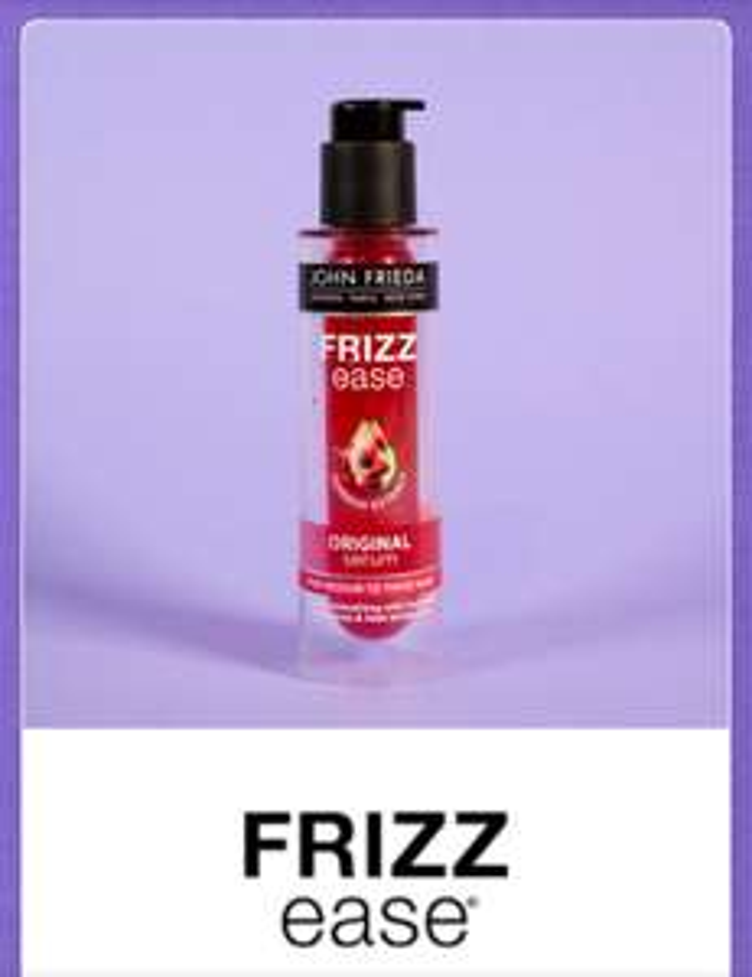 John Freida Frizz ease sample