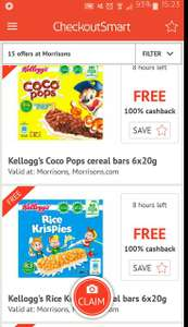 Kellogs Cereal Bars Rice Krispies Coco Pops And Frosties Via