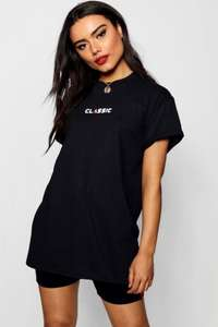 FREE next day delivery + 24% Off 'The Womans Edit' -  Woman Classic Slogan Tee £4.56 with NDD at Boohoo