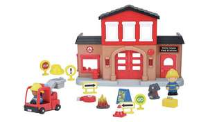 Chad Valley Tots Town Fire Station Playset - £8.99 @ Argos