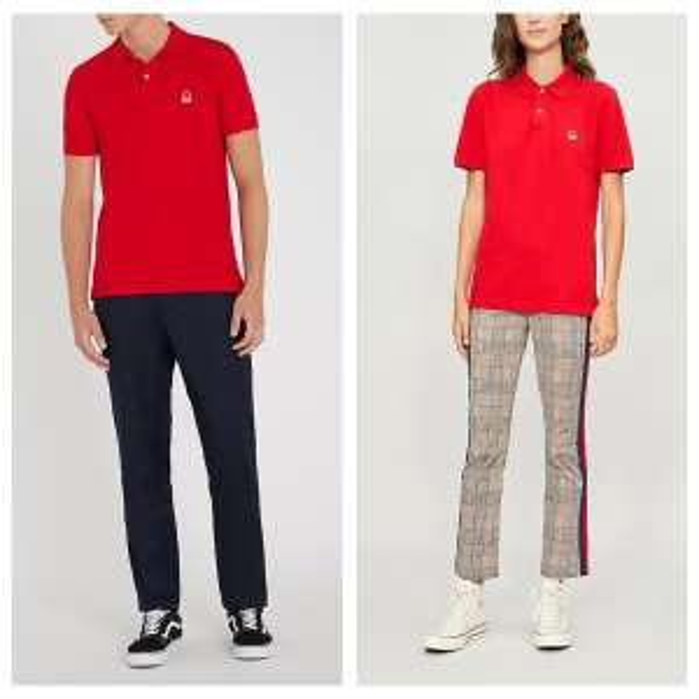 BENETTON Unisex Logo-Embroidered Cotton-Piqué Polo Shirt. In Multiple Colours. EXCLUSIVE TO SELFRIDGES - £15 (Free C&C)