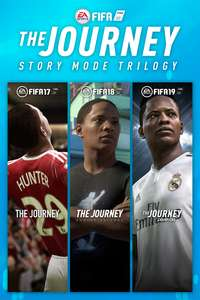 FIFA The Journey Trilogy  with FIFA 17, FIFA 18, and FIFA 19 on Xbox One £21 @ Microsoft Store
