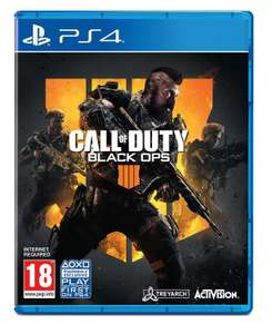 Call of Duty Black Ops 4 (PS4) used good - £19.99 ebay /  boomerangrentals