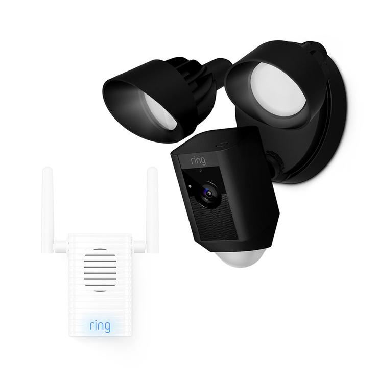 Ring floodlight cam plus chime Pro plus 6 months cloud £194.89 @ Costco