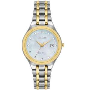 Citizen Silhouette Diamond Ladies' Eco-Drive Bracelet Watch (£200) now £119 delivered @ hsamuel.co.uk