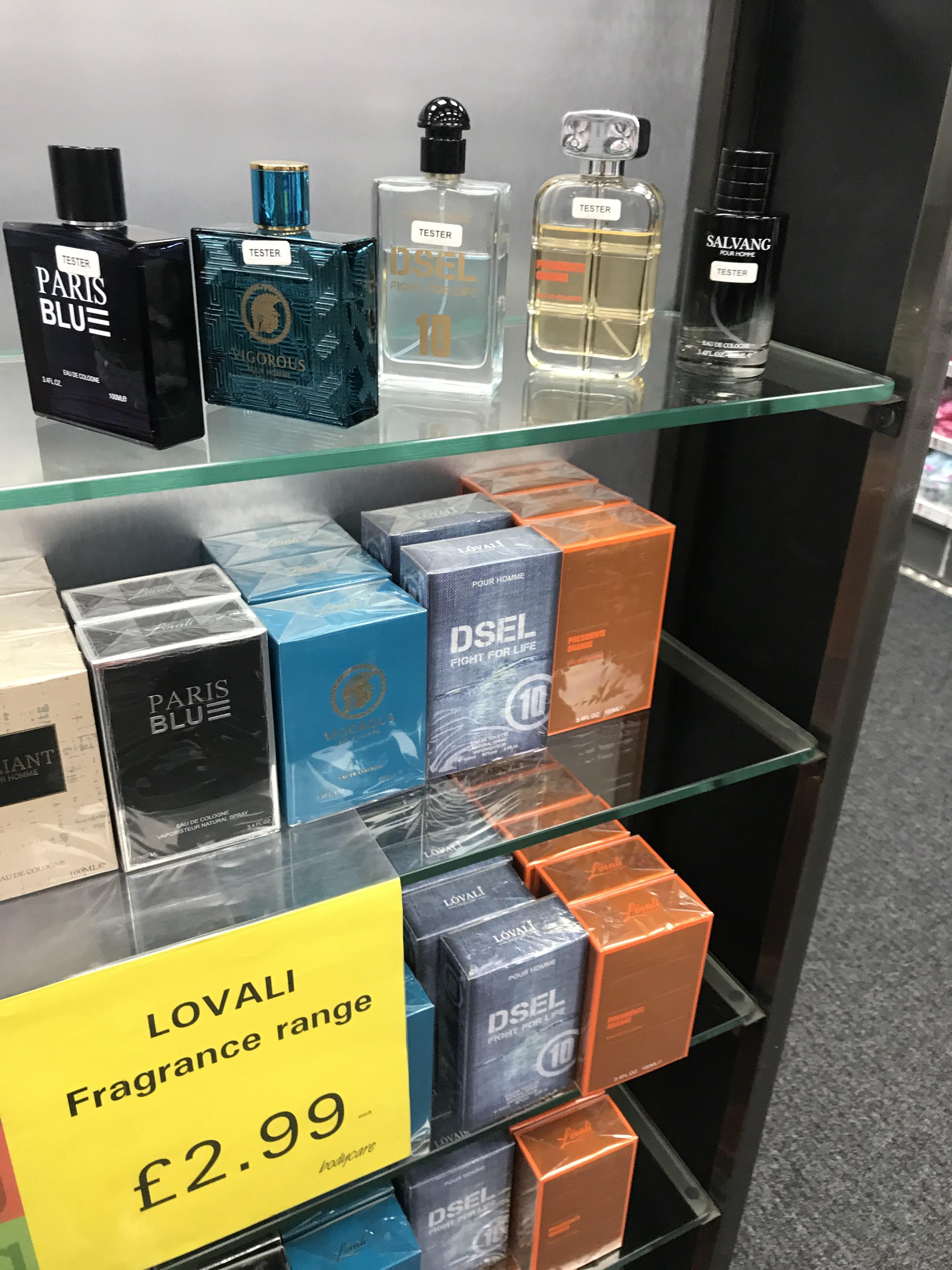 Cheap copies of perfumes in Bodycare - £2.99 [Dsel / Salvang / Vigorous + more]