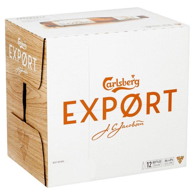 Carlsberg Export 12x330ml bottles Beer Sale - £6 at Asda