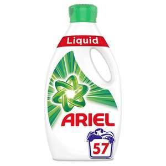 Ariel Washing Liquid 57 washes - Original or Colour & Style £7 @ Asda