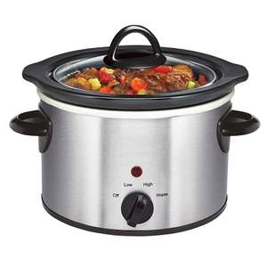 1.5L Manual Slow Cooker - Stainless Steel - £7.14 with code @ Robert Dyas
