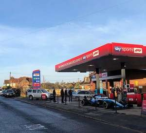 FREE Petrol in High Wycombe - HP15 6RQ - courtesy of Sky Sports F1