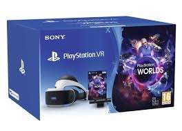 Sony PlayStation VR + Camera + VR Worlds £157.07 Like New from Amazon Warehouse Germany inc shipping