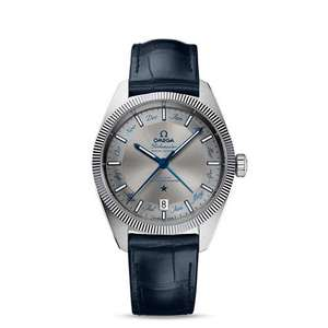 Omega Globemaster Annual Calendar Blue 41mm Automatic Women's Watch - £3995 @ Hugh Rice