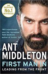 Ant Middleton 'First Man In' Book - £2.50 when you buy a copy of The Sun newspaper instore @ Tesco