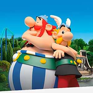 Parc Asterix Theme Park, France - 1 Day Pass - Kids go FREE + Extra 5% Off Adult Tickets w/code  £42.29 @ 365 Tickets  Valid Easter Holidays