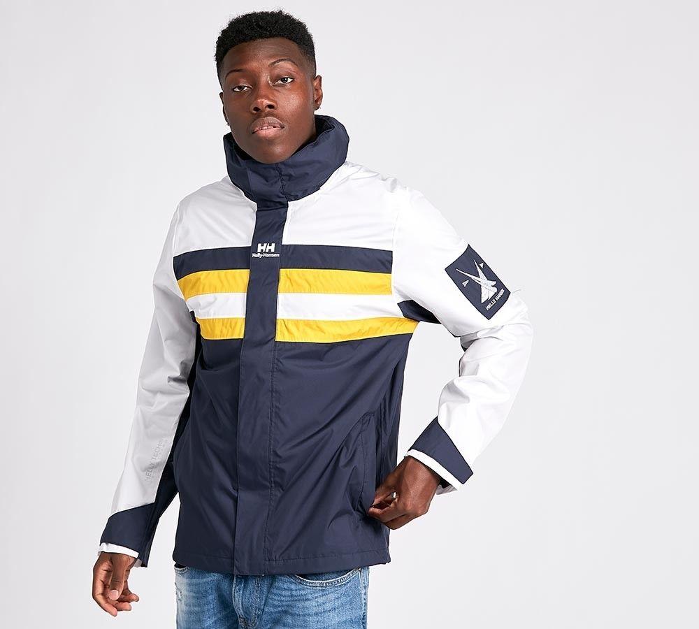 Mens Helly Hansen Urban Col Black Sail Navy/Yellow Jacket £29.99 @ Foot Asylum