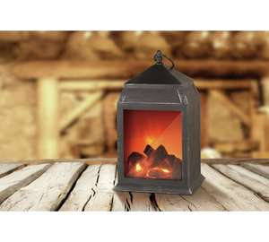 Argos clearance Table top fireplace free C&C - £9.99