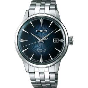 Seiko Presage Men's Blue Moon Cocktail Time Automatic Watch Delivered £251.10 @ Francis & Gaye