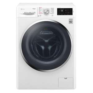 LG F4J6EY2W Steam Washing Machine in White 1400rpm 8.5kg A+++ Smart ThinQ £349 @ Sonic Direct
