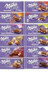 Milka Alpine milk chocolate bar 100g 75p various bars @ Home Bargains 300g bar £1.99