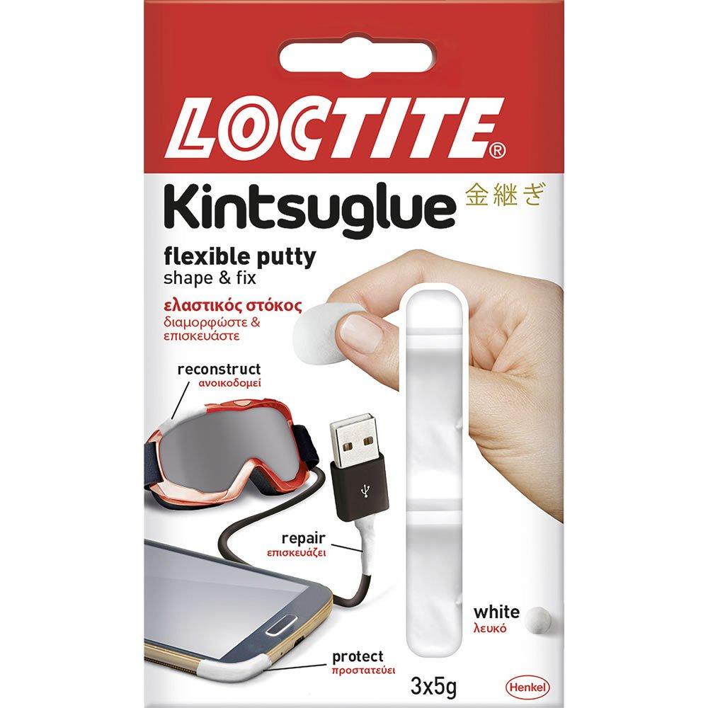 Loctite 3 pack Kintsu Glue Flexible White Putty 50p in Wilko