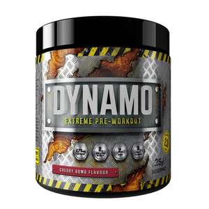 Dynamo extreme Pre workout 30 servings (225g) £7.99 instore @ Home Bargains
