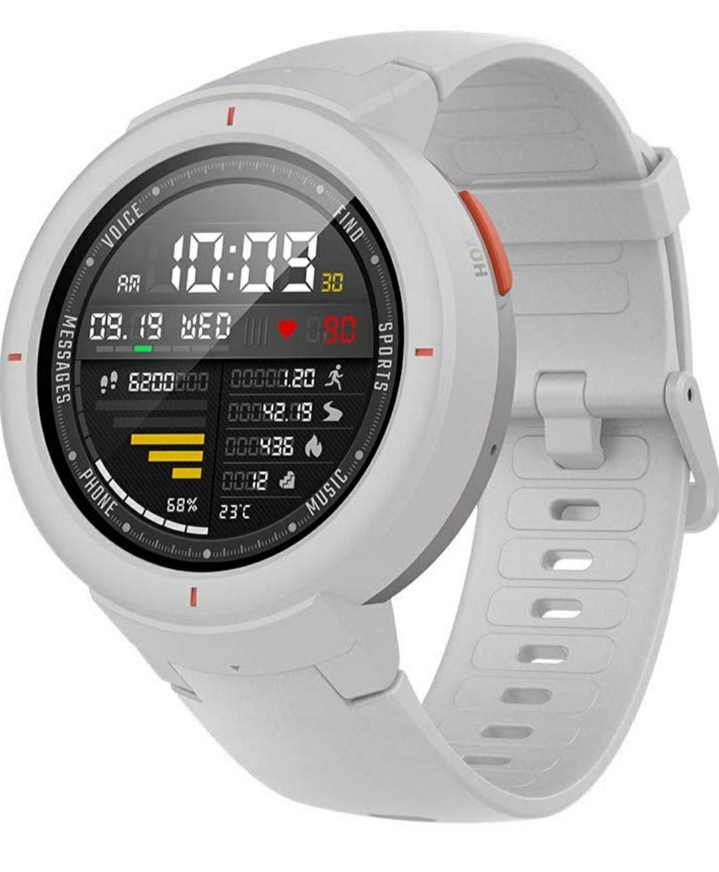 Xiaomi Huami AMAZFIT Verge Bluetooth Fitness Smartwatch White (£120 Fee Free Card - £125) @ Amazon Germany