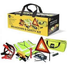 AA In Car Essentials 8 Piece Breakdown/Roadside Vehicle Safety Kit Europe And UK £24.99 @ xsitems_ltd eBay