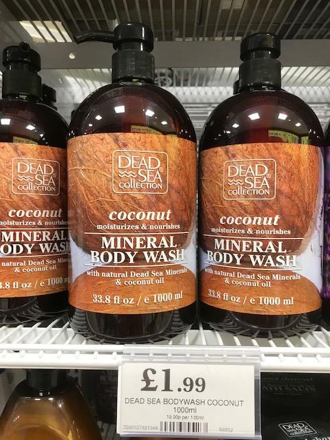 Dead Sea Collection - body wash, shampoo, conditioner, bath salts and bubble bath £1.99 @ Home Bargains / Quality Save