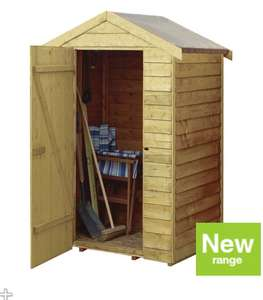Shed - Very Small - 3ft x 4ft - £100 @ Wickes - Instore Only