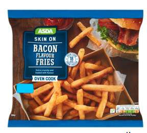 Asda Skin On Bacon Flavour Fries500g At Asda Online Instore
