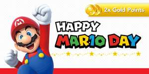Happy MAR10 DAY! Collect 2X Gold Points on selected Nintendo Switch Mario titles @ Nintendo eShop