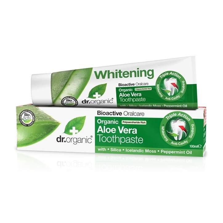 Dr Organic Aloe Vera Toothpaste 100ml - £2.20