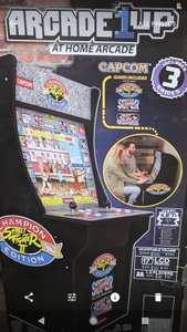 1UP Street Fighter 2 Arcade Machine Cabinet (2 players) - £299 Instore @ TK Maxx (Manchester Arndale)
