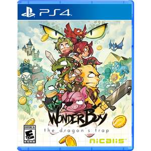 Wonder Boy The Dragons Trap [Special Edition] PlayStation 4 Remake of Sega Master System, PC Engine & TurboGrafx16 - £19.99 @ GAME.