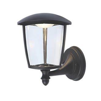 LAP 9.2W BLACK LED WALL LIGHT 300LM - £4.99 - Free C&C @ Screwfix - Plenty in stock!