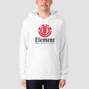 Element Hoodie Optic White £16 + £3.99 delivery @ Rollersnakes