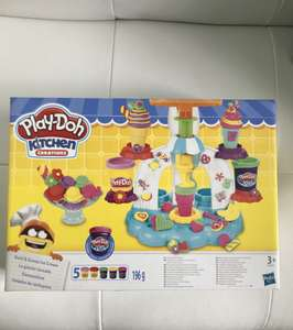 Play Doh kitchen creations swirl and scoop ice cream maker scanning at £3 B&M in store