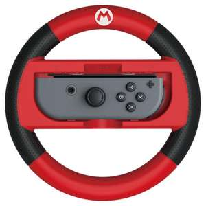 Nintendo Switch Joy-Con Wheel - Mario (plus free pin badges) at Nintendo Store for £11.73 delivered