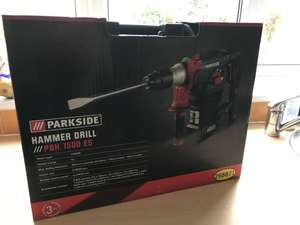 Parkside SDS Hammer Drill instore at Lidl for £19.99