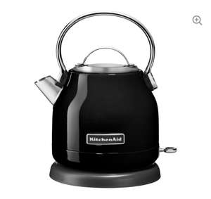 KITCHENAID 5KEK1222BOB Traditional Kettle - Onyx Black £39.99 Currys