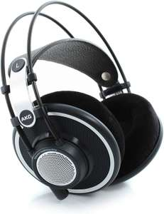 AKG K702 Reference Open-Back Over-Ear Studio Headphones, £105 from Amazon Prime exclusive