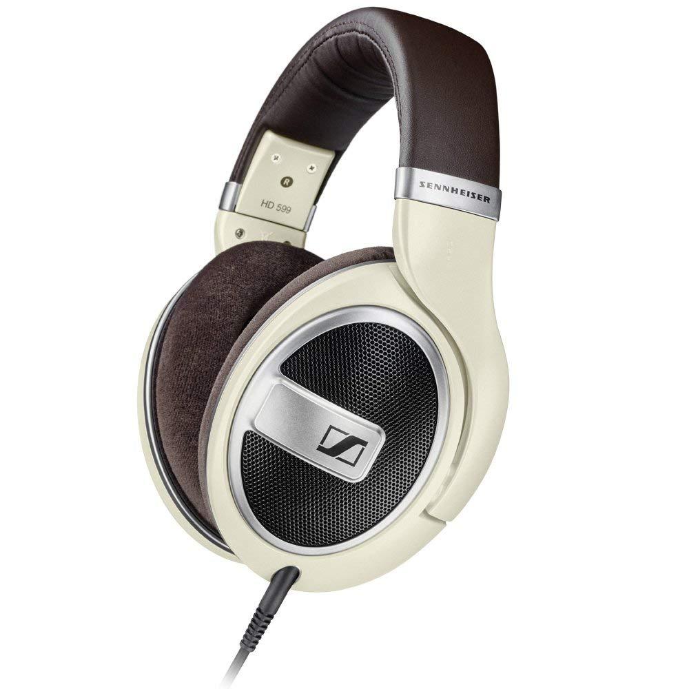 Refurbished Sennheiser HD 599 Around-Ear Open Back Headphones - Ivory, £94.95 at Sennheiser Outlet