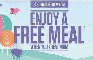 Mum's Eat free after 5pm on Mothers Day @ Sizzling Pub Co