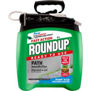 Roundup Path Weedkiller 5L £13.46 Delivered @ Amazon (Prime Only)